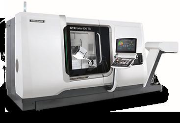 DMC Mori CTX beta 800 TC Universal Turning Center