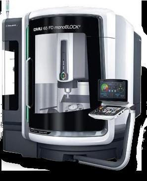 DMG Mori DMU 65 FD monoBLOCK® Universal Milling Machine